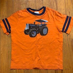 Hanna Andersson tractor tshirt